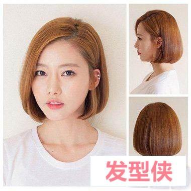 韩国女孩的发型图解 额头低适合什么韩国发型