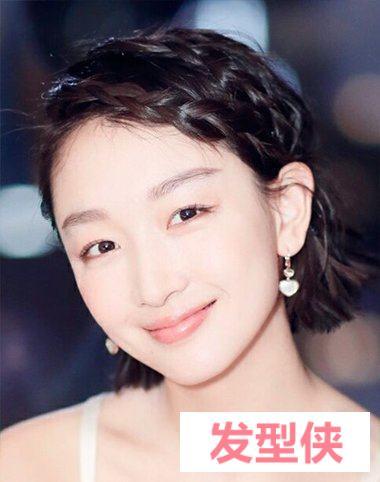 女生帅冲天耳侧编发短发的造型 短发耳侧编发会显示出气质感吗
